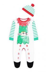 pijama bebé elfo primark