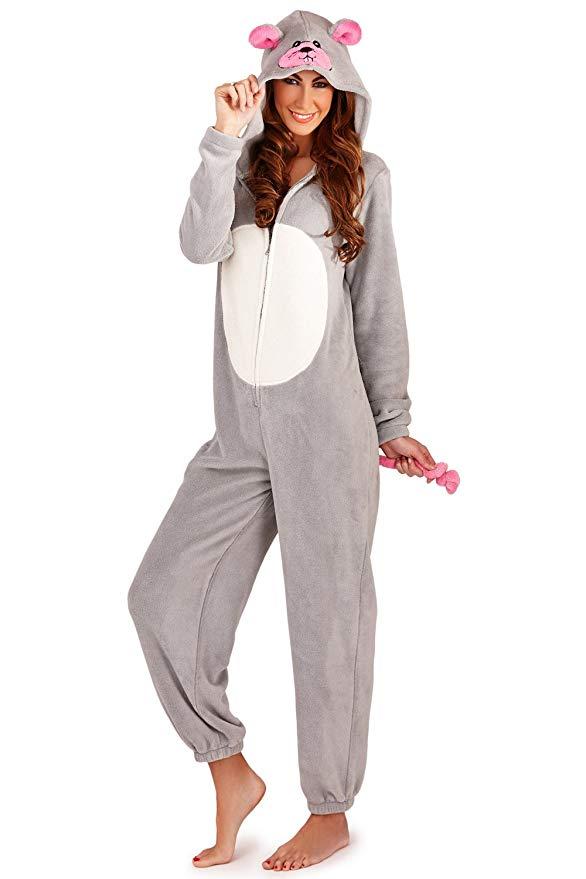 pijama enterizo de raton para mujer