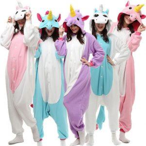 pijamas unicornio niña