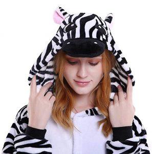 pijama de animal cebra